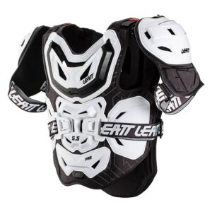 Мотозащита тела LEATT Chest Protector 5.5 Pro White