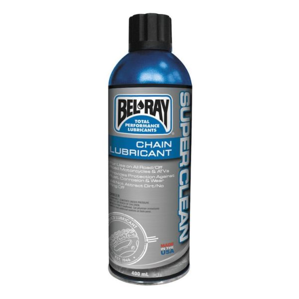 Cмазка цепи BEL-RAY SUPER CLEAN CHAIN LUBE (400ML)