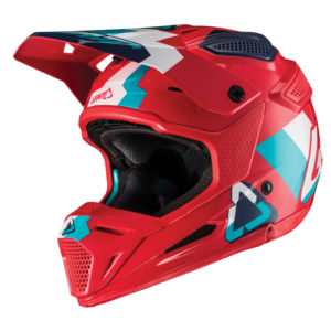 Мотошлем LEATT GPX 5.5 V19.2 Red/Teal