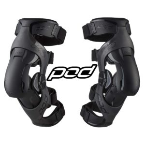 Наколенники POD K4 2.0 Knee Brace Graphite/Black