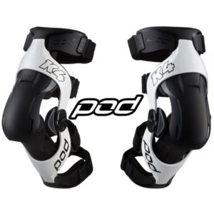 Наколенники POD K4 2.0 Knee Brace White/Black
