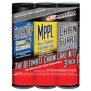 Комплект для цепи MAXIMA Synthetic Chain Guard Ultimate Chain Care Combo Kit (3-Pack)